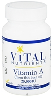 Vitamin A from Fish Liver Oil