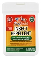 Insect Repellent Towelettes with Geraniol Lotion