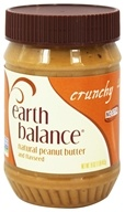 Natural Peanut Butter and Flaxseed Crunchy