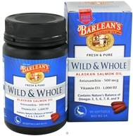 Fresh & Pure Wild & Whole Alaskan Salmon Oil