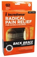 Radical Pain Relief Back Brace Unisex X-Large 34-37 Inches
