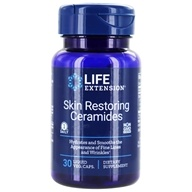 Life Extension - Skin Restoring Phytoceramides with Lipowheat 350 mg. - 30 Liquid Capsules