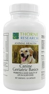 Animal Health Canine Geriatric Basics