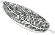Recycled Metal Incense Holder Aluminum Leaf Tray