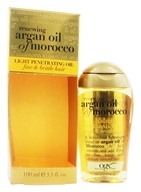 Penetrating Oil Light For Fine, Brittle Hair Renewing Moroccan Argan Oil