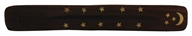 Wooden Incense Holder Moon & Stars