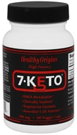 Healthy Origins - High Potency 7-Keto 100 mg. - 60 Vegetarian Capsules