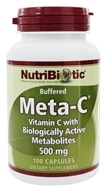 Meta-C Buffered Vitamin C with Biologically Active Metabolites