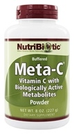 Meta-C Buffered Powder Vitamin C with Biologically Active Metabolites