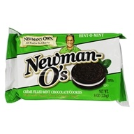 Newman-O's Creme Filled Chocolate Cookies