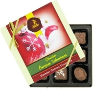 European Assortment Gourmet Organic Milk Chocolate With Holiday Sleeve