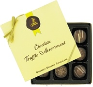 Truffle Assortment Gourmet Organic Milk Chocolate