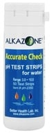 Accurate Check pH Test Strips for Water
