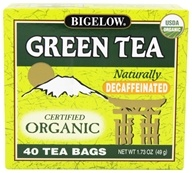 Green Tea Certified Organic Decaffeinated