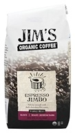 Jim's Organic Coffee - Whole Bean Coffee Espresso Jimbo - 12 oz.