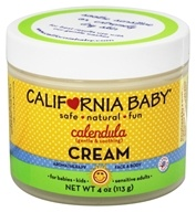 California Baby - Calendula Cream - 4 oz.