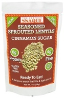 Seasoned Sprouted Lentils