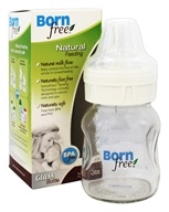 Glass Bottle BPA Free Slow Flow