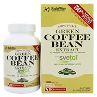 Green Coffee Bean 100% Pure Extract with Svetol