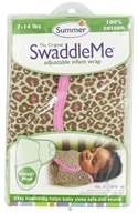The Original SwaddleMe Adjustable Infant Wrap Small/Medium 7-14 Pounds