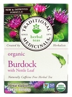 Organic Herbal Tea Burdock
