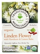Organic Herbal Tea Linden Flower with Hawthorn & Lemon Balm