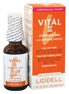Vital II Hormone Free with Ginseng Extract Homeopathic Oral Spray
