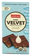 Organic Chocolate Dark Velvet 47% Cocoa