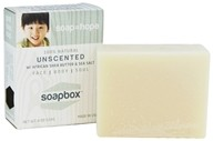 All Natural Bar Soap with Shea Butter and Sea Salt