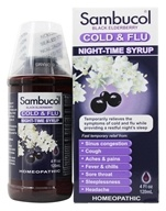 Black Elderberry Cold & Flu Night-Time Syrup