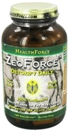 HealthForce Nutritionals - ZeoForce Zeolite Detoxify Daily - 180 Vegetarian Capsules