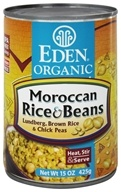 Organic Moroccan Rice and Beans
