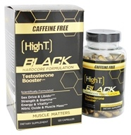 Black Testosterone Booster Hardcore Formulation Caffeine Free
