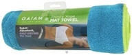 Thirsty Yoga Mat Towel Blue Teal
