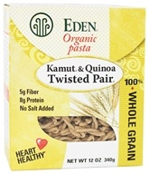 Organic Pasta Kamut and Quinoa Twisted Pair