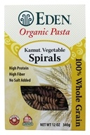 Organic Pasta Kamut Vegetable Spirals