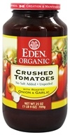 Organic Crushed Roma Tomatoes with