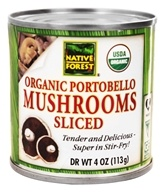 Portobello Mushrooms Sliced Organic
