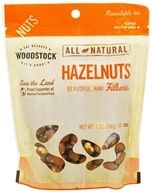 All-Natural Raw Shelled Hazelnuts