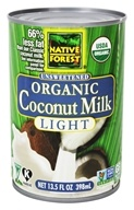 Coconut Milk Light Organic