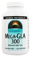 Mega-GLA 300 Borage Seed Oil