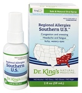 Homeopathic Regional Allergies Southern U.S. Natural Medicine Spray