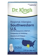 Homeopathic Regional Allergies Southwestern U.S. Natural Medicine Spray