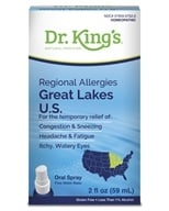 Homeopathic Regional Allergies Great Lakes U.S. Natural Medicine Spray