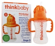 Thinkster Stage D No Spill Straw Bottle
