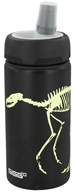 DROPPED: Sigg - Aluminum Water Bottle Active Top For Kids Dino Glow - 0.4 Liter