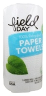 Paper Towels 100% Recycled 2-Ply 120 Custom Size Sheets - 1 Jumbo Roll
