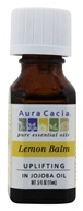 Aura Cacia - Pure Essential Oils Uplifting Lemon Balm - 0.5 oz.