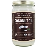 Dr. Bronners - Magic Fresh-Pressed Virgin Coconut Oil Whole Kernel Unrefined - 30 oz.