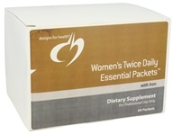 Women's Twice Daily Essential Packets With Iron